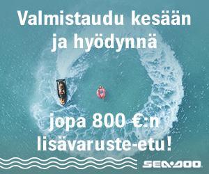 Nappaa ensimmäinen aalto – jopa 800 € arvosta lisävarusteita!
