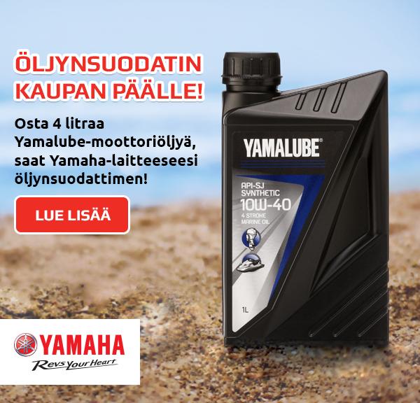 siirrä Yamahasi kesäaikaan laadukkaalla Yamalube-öljyllä