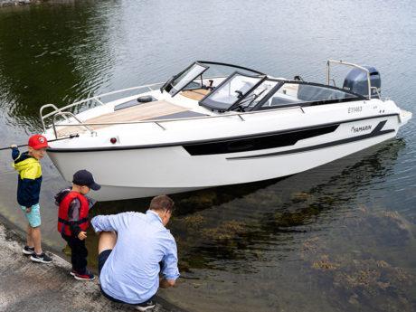 Yamarin ja Cross 2020  vene-moottorikampanjat. Uutuus Yamarin 63 DC peräkuomu kaupan päälle.
